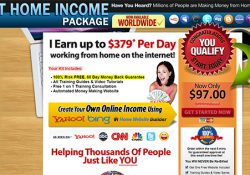 At Home Income Package