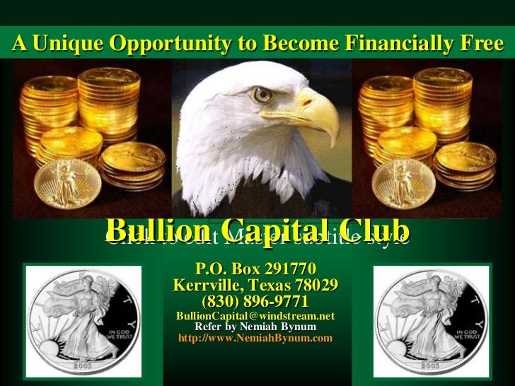 bullion capital club