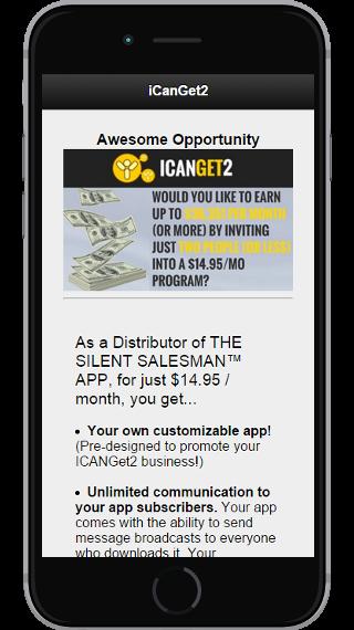 ICanGet2 App